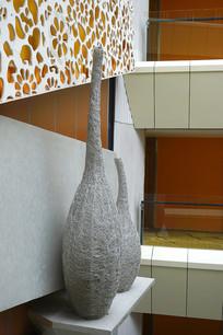 天井式建筑墙面装饰及雕塑摆件