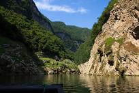 原始生态的巫山小小三峡