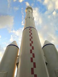 发射塔航天火箭