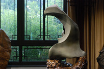 济南天然奇石馆里的奇石