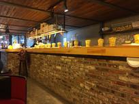 奶茶店一角