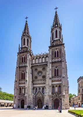 山东济南洪楼教堂