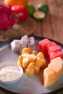 水果油条色拉