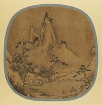 唐代珪观山水图