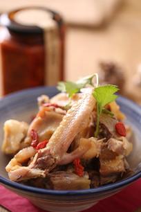 荆州古法制作鸡肉