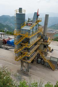 沥青混凝土搅拌站生产环境