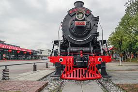 蒸汽机火车头