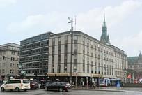 德国汉堡城市街道街景