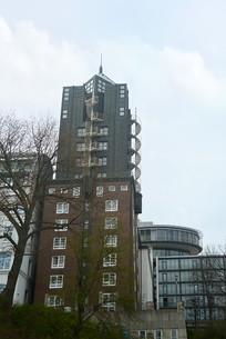 德国汉堡港地区的酒店宾馆建筑