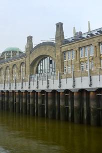 德国汉堡港圣保利码头建筑