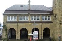 德国汉堡港圣保利码头站房