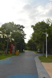 广州儿童公园人行道