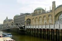 汉堡港圣保利码头建筑