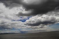 江滩海景云海