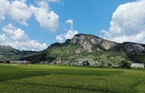 贵州山区田园景色