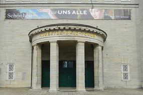汉堡市立美术馆建筑外景