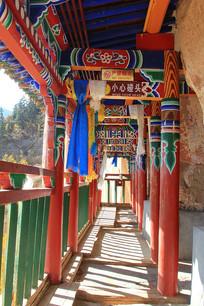 马蹄寺悬空走廊