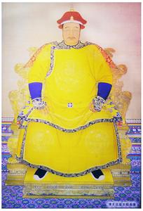 清太宗皇太极画像