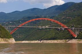 世界百座名桥巫山长江大桥