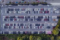 停车场航拍