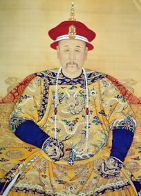 雍正皇帝朝服像
