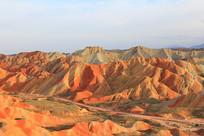 中国地质地貌张掖丹霞