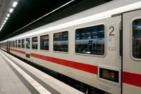 德国柏林中央车站站台