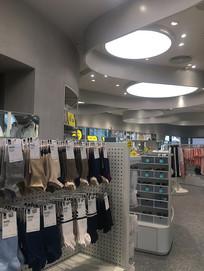 女装店袜子展示