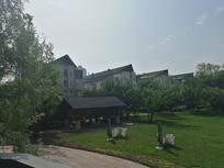 四季如春的小区绿化景观