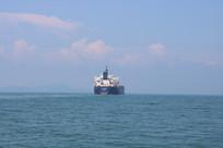 航行中的船舶