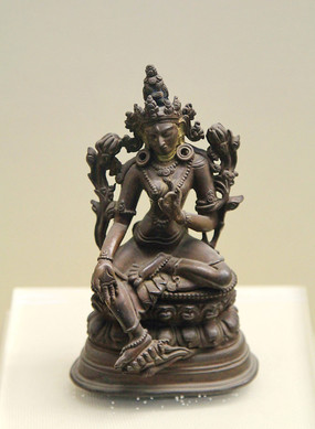 明代铜佛像
