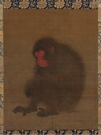 南宋毛松猿图