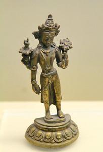 铜佛像明代