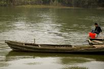铜陵市淡水豚自然保护区的江豚