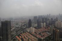 雾气雾霾城市