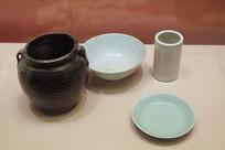 谢子长用过的碗碟