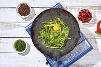 铁板韭菜鸡蛋