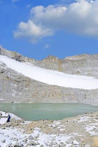 达古冰山现代冰川冰蚀湖