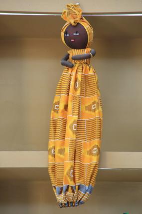 非洲工艺品女娃娃