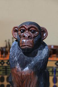 非洲猩猩木雕
