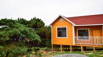 木质别墅房屋高清图