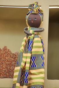 索马里工艺品女娃娃