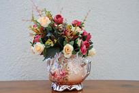 月季花花盆