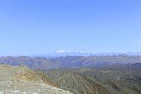 阿坝藏区高原群山