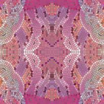彩色玻璃陶瓷拼花