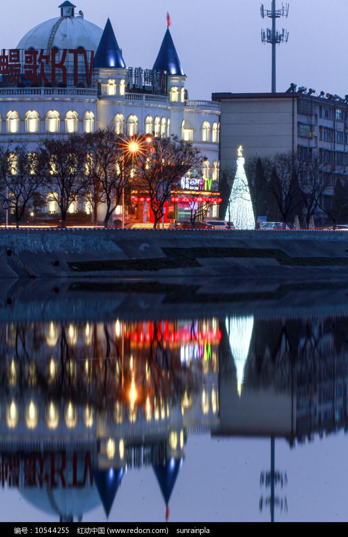 KTV夜景 图片