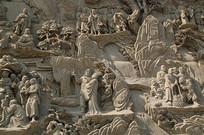 北京灵光寺五百罗汉图浮雕