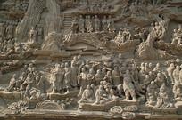 北京西山灵光寺五百罗汉图浮雕