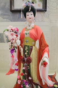 汉代美女蜡像