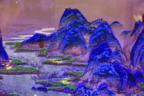 山水画苔藓画